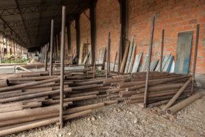 Berges et Cie Vente de fer tube réemploi Toulouse